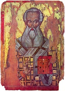 Athanasius, the first guy to say the NT only has 27 books.
